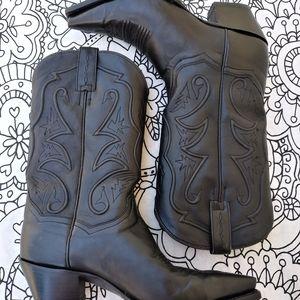 Dan Post Cowboy boots black size 10M